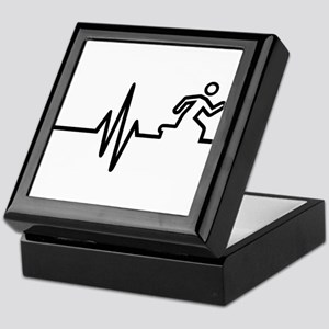Runner frequency Keepsake Box